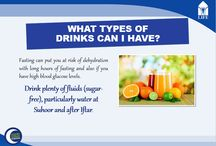 Ramadan & Diabetes / Thinks to be taken care by the Diabetic patient Fasting during Ramadan