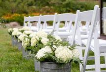 wedding flowers (centerpieces, bouquets, aise) / by Dana Miller