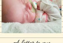 Letters to my baby girl