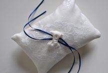 Cuscinetti portafedi / wedding pillow