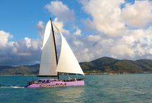 Camira Sailing Adventure / Explore magnificent Whitehaven beach and the spectacular Whitsunday Islands National Park onboard 'Camira'. Book your sailing adventure with Cruise Whitsundays or Awesome Whitsundays.
