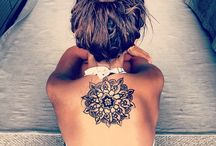 lace body tattoo mandala