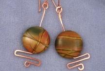 Wire earrings / by Jessica, Littlebitofjess Jewelry