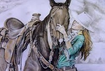 Cowgirl Up / by Diane Gow-Miklos