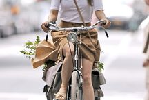 City Chic on A Bike