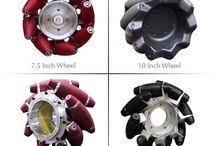 Omni/Mecanum wheels