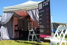 Pop up mobile Salon ideas