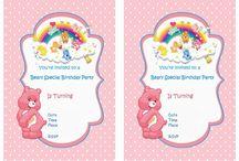 Care bears birthday party
