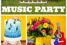 Birthday Party- Music Themed