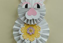 Easter Projects & Cards / Die cut and crafted Easter projects