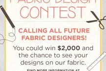 2013 Fabric Design Contest / by Connecting Threads