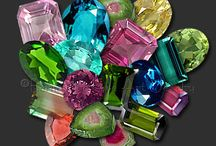 Gemstones / Cut or faceted gemstones
