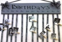 doğum günü panosu