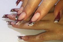 Мои работы/ my works nails / #manicure #nailart #ногти #маникюр #длинные #шеллак #дизайн #гельлак #nails