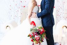 Valentines Themed Wedding / Get inspiration from these gorgeous photos for your wedding themed on the most romantic day of the year...