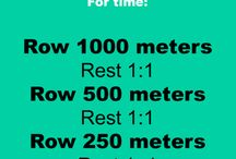 Rower workout / by Tara Thompson