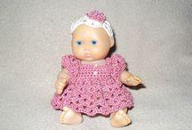 CROCHET KRAZY~Doll Clothes~Asst Tiny Baby Dolls