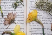 flowers: on people, faces, books. flowers: on things in general