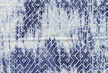 IKAT / Textile weaving in ikat