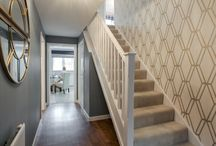 Welcoming Hallways / Make a stylish first impression with these beautiful hallway decor inspirations.