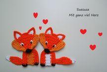 zwierzątka crochet animals