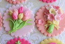 cupcake toppers / Cake ideas
