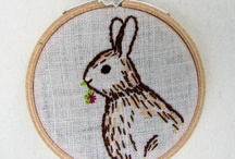 thread / embroidery, quilting, sewn objects, other uses for fabric! / by Annie Burks