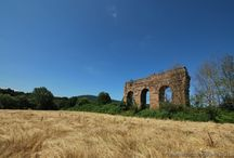 Ancient Aqueducts and water works - Acquedotti, cisterne e altre opere idrauliche nel Lazio