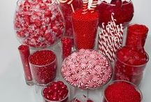 Red Candy Buffet Ideas