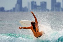 Beautiful ladies of surfing / The beautiful ladies of surfing