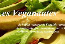 Cuisine vegan de K&M Les Veganautes / https://kmlesveganautes.wordpress.com est un blog vegan en France.     VEGANAUTE(s): n. – 21ème siècle.  – de Vegan (syncope de l'anglais veg(etari)an, 1944) et de ναῦται (du grec navigateur, marin.) dans le sens de voyageur, chercheur, explorateur.     Par extension virtuelle, qui circule sur le net pour agiter à son tour l'information vegan et créer une émulsion, faire accroître le véganisme (mode de vie)