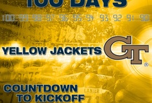 100 Days Until Georgia Tech Football Kickoff / by Georgia Tech Athletics