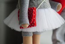 ляльки текстильні