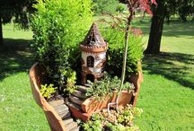 Mini-gardens / Create beautiful mini-gardens in containers or in your backyard garden. Magical fairy garden ideas for DIY beauty and fun.