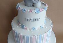 Baby's shower cake idea