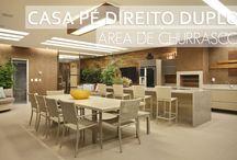 Interior Design- espaços para receber amigos / Ambientes que inspiram!! Especial areas comuns! Once os encontros em familia e amigos acontecem!