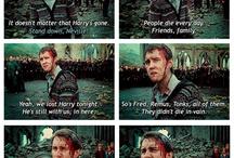 Sad scenes from Harry Potter