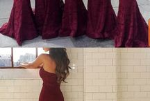 • Bridesmaid Dresses •