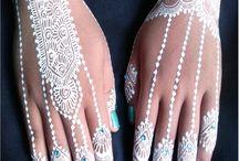 White Henna by Ayana Henna