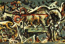 Expresionismo abstracto ( Pollock )