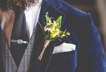 Groom Style / Cool grooms in bespoke suits and alternative wedding clothes