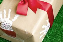 Handmade wrapping and bows