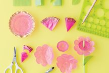 Cards - DIY Embellishments / How to make your own embellishments for Cards and Scrapbooking.