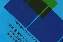 - Musique - / Affiches graphiques, webdesign et autres visuels pour concerts classiques, jazz ou électro. #poster #music