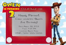 Toy Story / Woody Party