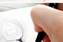 drawed animals