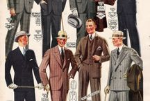 1920's men's fashion / by Matthew Phelps