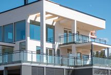 Kalajoen loma-asuntomessut 23.6.-6.7.2014 / Honkatalojen messukohde nro 3 Villa Albatrossi on uljas ja moderni ekopuutalo, jossa ei ole säästelty lasipintojen määrässä. Tutustu kohteeseemme ja ihastu!