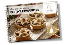 Macadamia Festive Favourites / Here are some of our favourite Christmas recipes in a handy free recipe book.