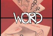 Word families / by Maria Folde